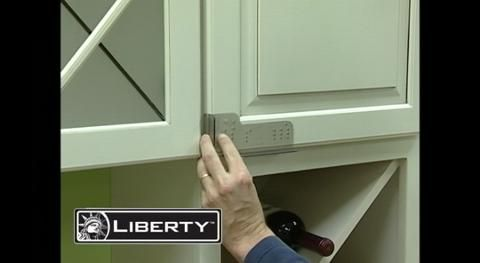 Liberty Align Right Cabinet Door Hardware Installation Template AN0200C-G-Q at The Home Depot - Mobile