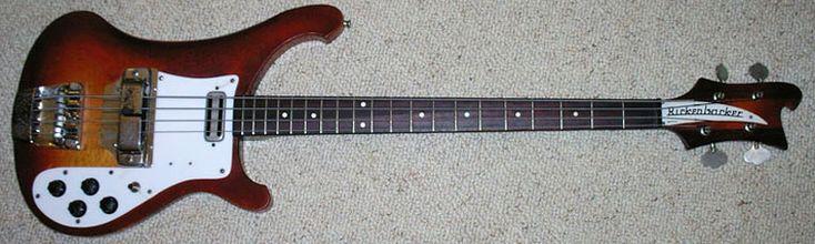 64 Rickenbacker 4001 - Terri's Bass-Aholic