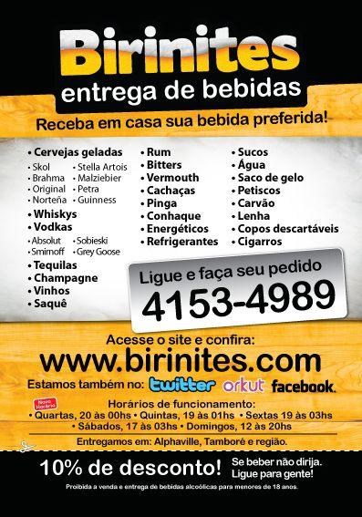 BIRINITES DELIVERY DE BEBIDAS PROMOÇÕES E NOVIDADES!!! https://www.facebook.com/BirinitesDeliveryBebidas #BirinitesDelivery #Birinites #Alphaville #Tambore #AlphavilleeArredores #Delivery #Beer #Cerveja #Drinks