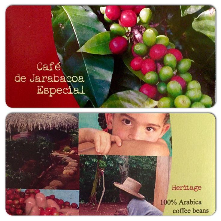 Brochure for Cafe de Jarabacoa Especial