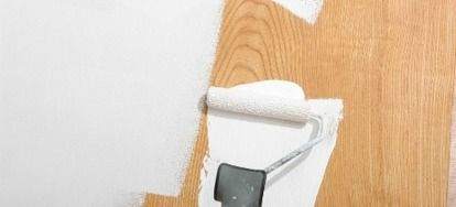 Painting over wood paneling is an inexpensive, quick decorating fix that can bring a new sense of space and light to a room, especially if the paneling is worn, dark, or out-of-date.