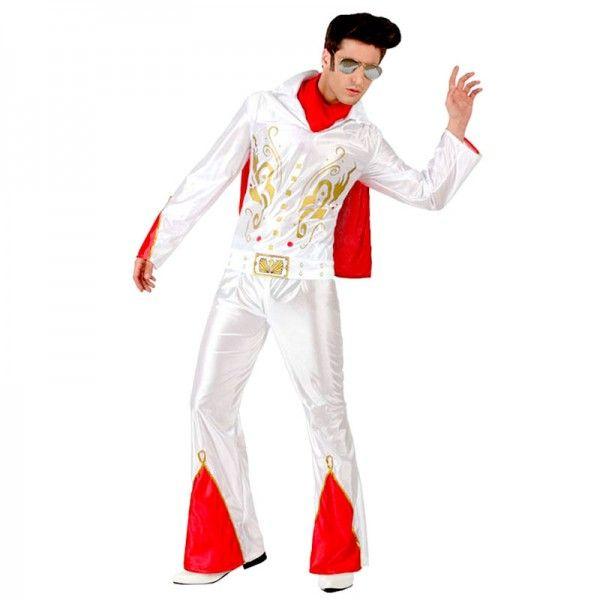 Disfraz de cantante Elvis Presley,  Rey del Rock & Roll
