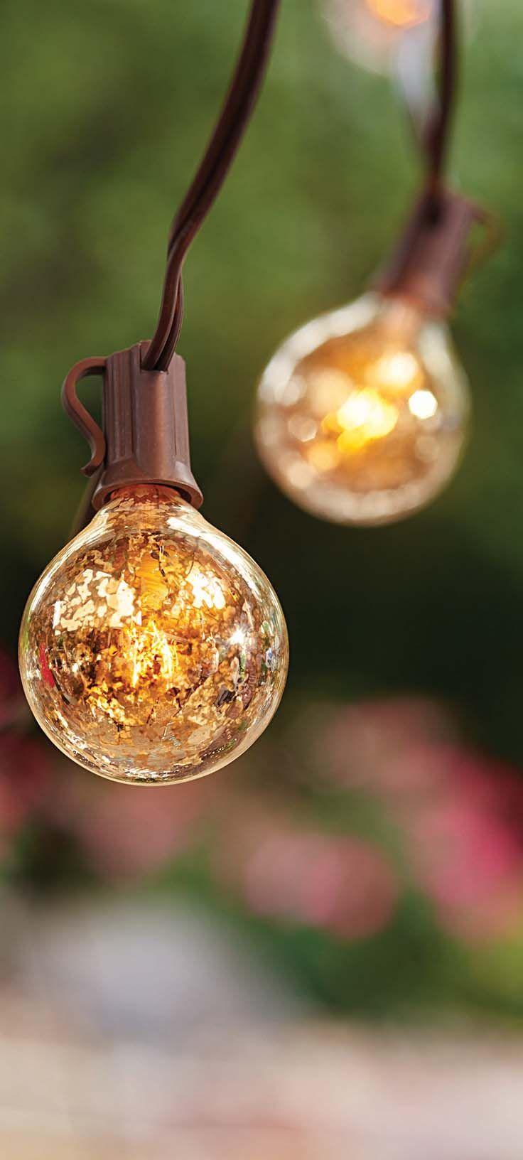 37 best better homes and gardens fab decor ideas sweeps images better homes and gardens mercury glass g 50 bulb 10 lights
