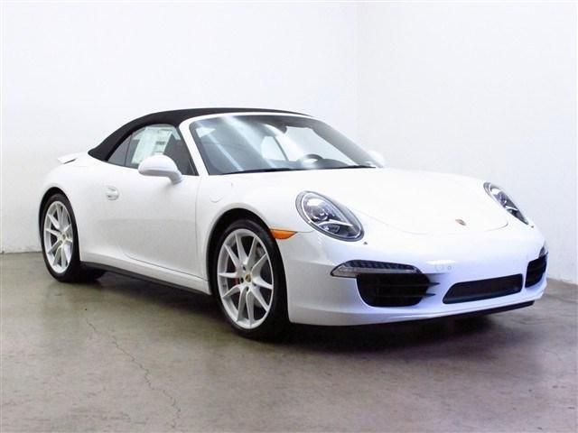 Nice 2014 Porsche 911 Carrera4S AWD Carrera 4S 2dr Convertible Convertible 2  Doors White For Sale In