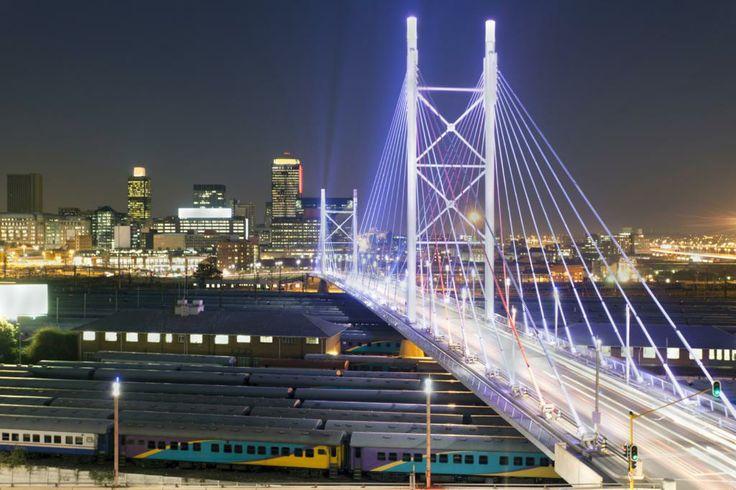 #64 Explore the iconic Nelson Mandela Bridge   The Gateway to Joburg CBD - Inspiring locals & foreigners alike. Thank you Michelle   I <3 Johannesburg