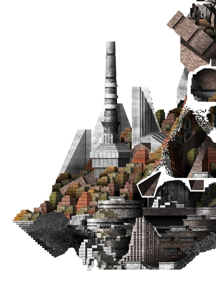 The London Brickworks - Kiln section blow-up