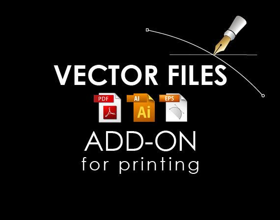 Vector source files Add on high resolution by SigntificDesigns