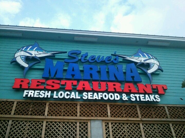 Steve's Marina Restaurant in Long Beach, MS
