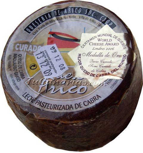 Queso Arico Curado Pimenton 500 g