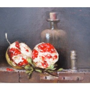 Pomegranate and bottle 330x280