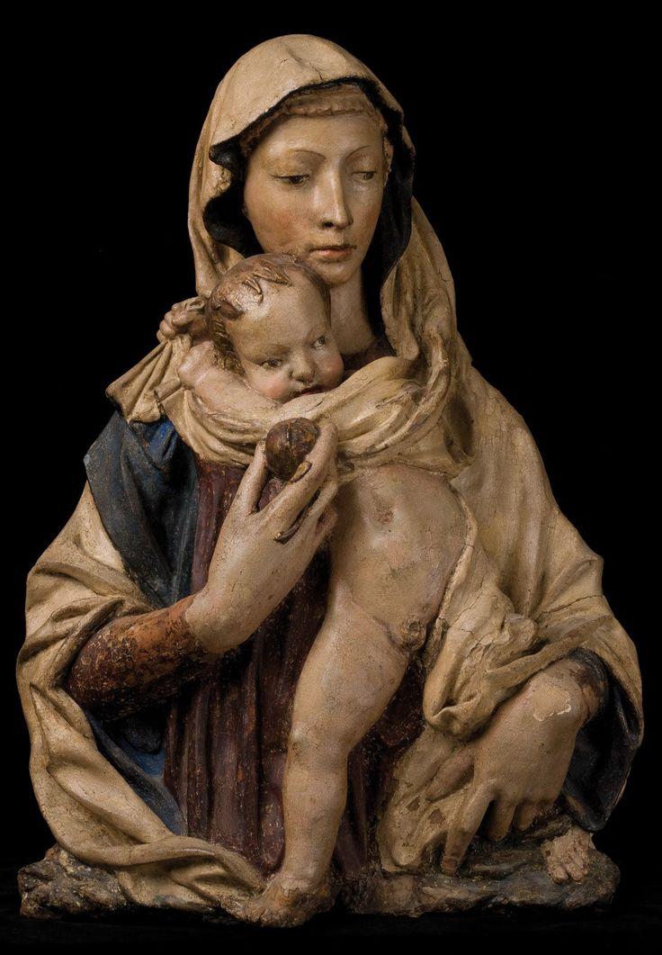 Donatello - Madonna con bambino (Firenze)