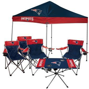 New England Patriots Rawlings Large Tailgate Kit  #tailgate Kit #nflshop #beccasshoppe