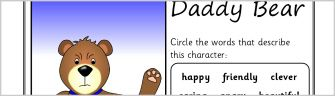 Character Description Writing Frames & Printable Page Borders KS1 & KS2 - SparkleBox