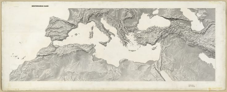 1950s Mediterranean Basin Terrain | par The Central Intelligence Agency