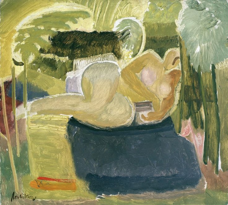Sizewell Figure among Bracken, 1935, Ivon Hitchens.