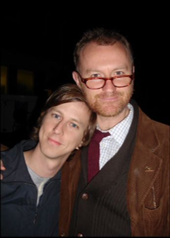 "Lee Ingleby and Mark Gatiss, when they were working on ""Crooked House"""