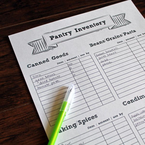 Best 25+ Pantry inventory printable ideas on Pinterest Pantry - inventory list template