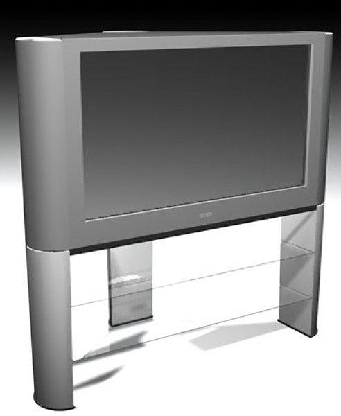 3D Model Architectural Visualization Sony Tv - 3D Model