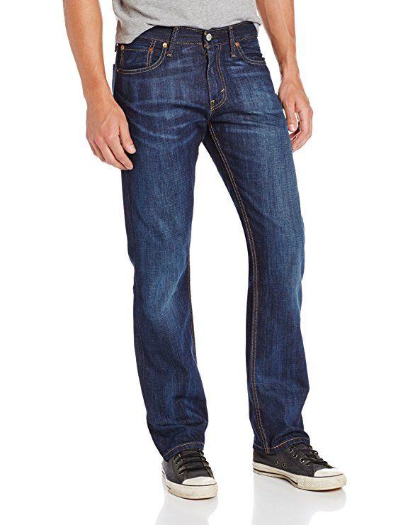 dda1440bb5a Levi's Men's 514 Straight fit Stretch Jean, Shoestring, 33x32 ...
