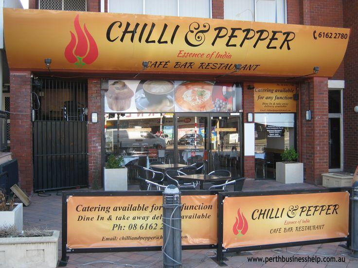 Chilli Pepper Cafe Bar Restaurant in Main St Osborne Park.
