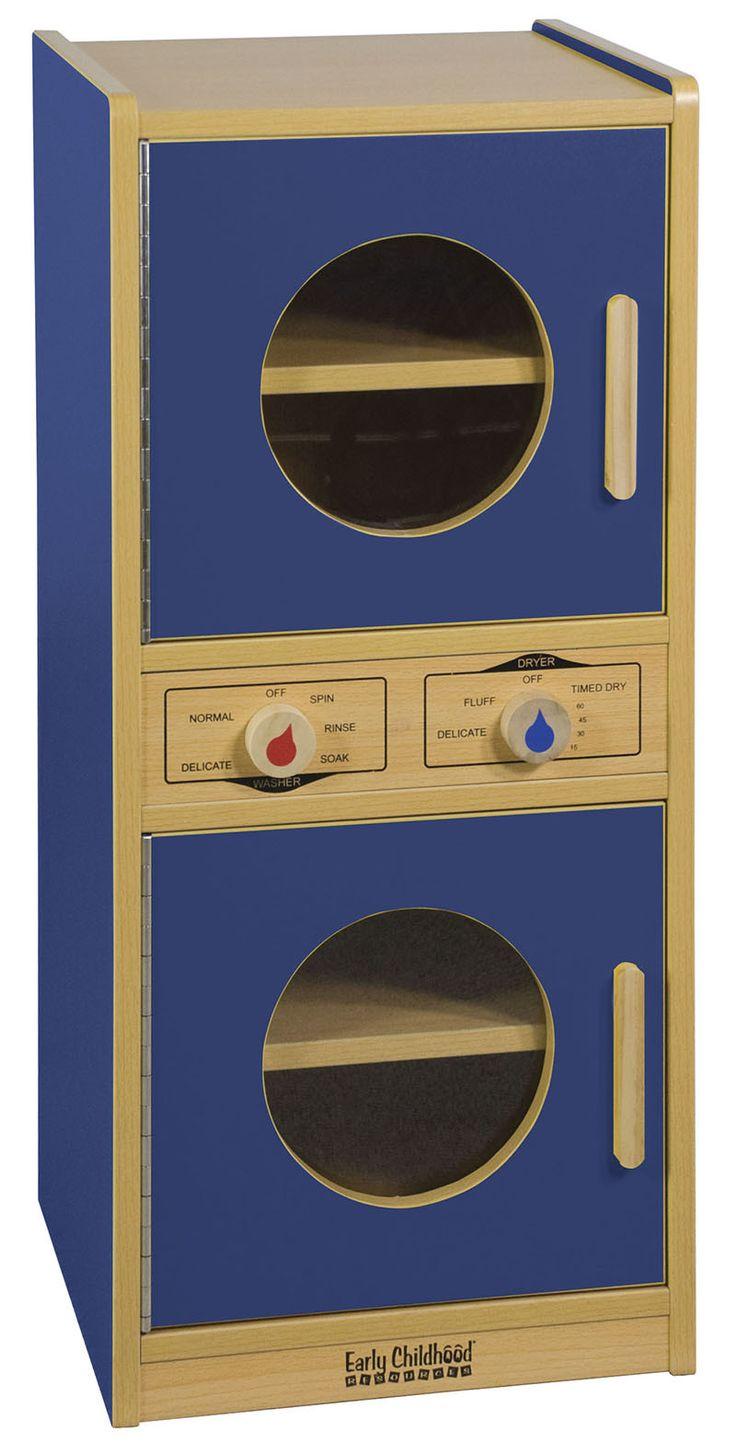 ecr4kids elr0744bl colorful essentials play washerdryer blue