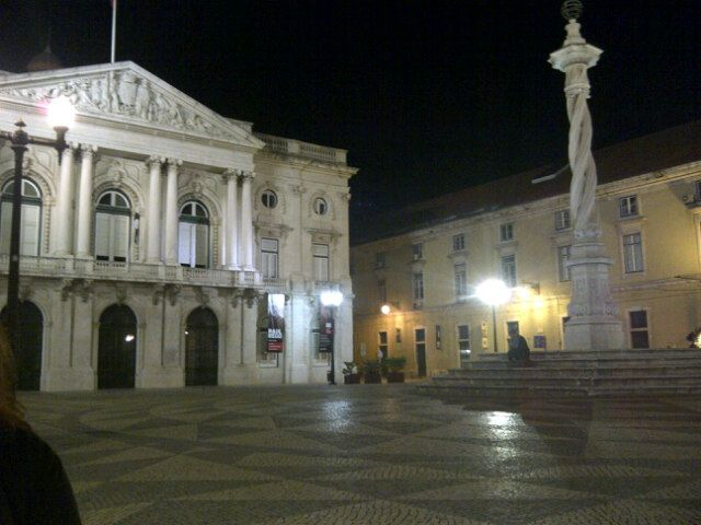 Praça do Município in Lisboa, Lisboa