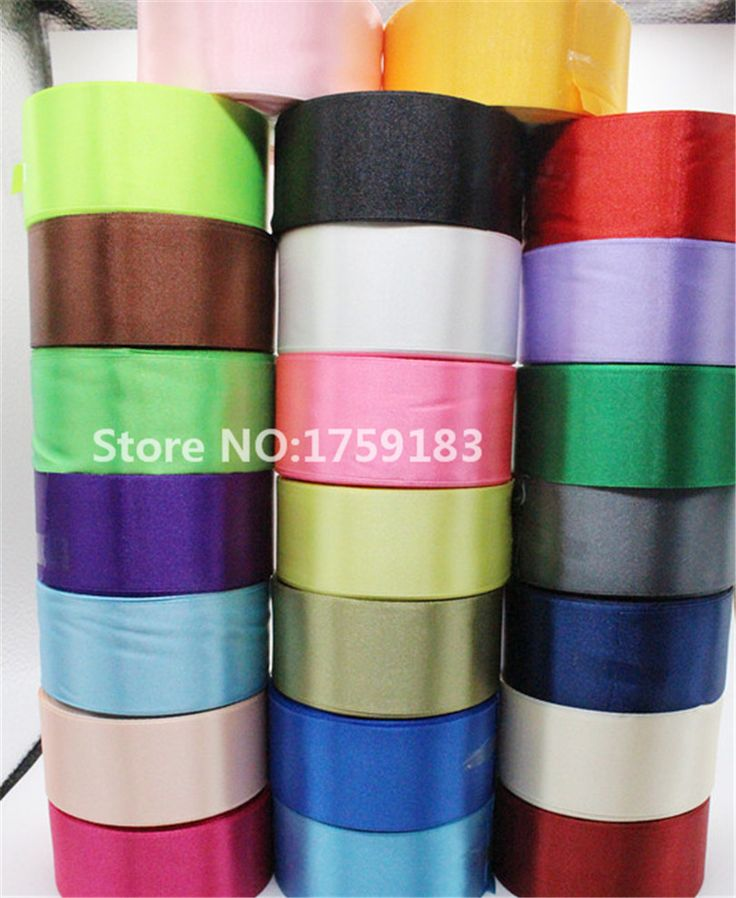 8 yards width 40mm 23 color Silk Satin Ribbon Wedding Party headband Invitation Card Gift Wrapping Supplies riband DIY GH-042