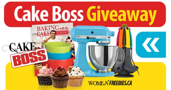 Win a Cake Boss Prize Pack from WomenFreebies