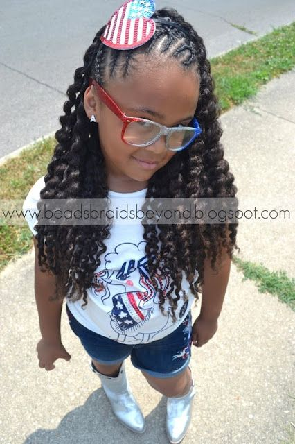 natural black twisted hairstyles girl kids | ... and Beyond: Easter Hairstyles for Little Girls with Natural Hair