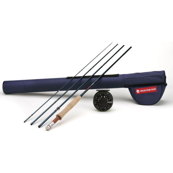 Redington 4-Piece Fly Fishing Rod Set | Crosswater 586 Combo