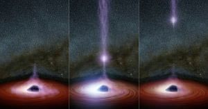 So NASA saw something come out of a black hole. Can anyone confirm or give details about it?