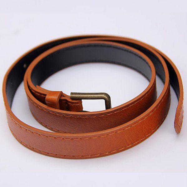 Simple Pure Color Faux Leather Belt #jewelry, #women, #men, #hats, #watches, #belts