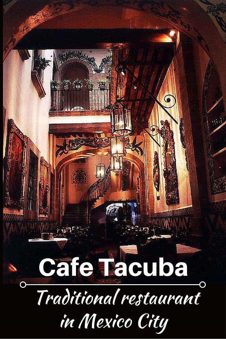 Not many restaurants can boast being older than 100 years. But the Café Tacuba restaurant (or Café de Tacuba) in Mexico City has been around since 1912. One of the most traditional restaurants in the foodie city, it's a charming eatery in a colonial-era building – and one worth seeking out when in Mexico City.