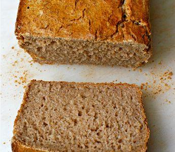 Ein Rezept für Allergiker: Buchweizenbrot für den Brotbackautomat #glutenfrei #laktosefrei  #eifrei