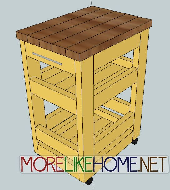 Wooden bathroom storage cart woodworking projects plans for Woodworking cart