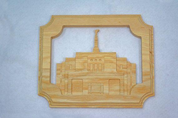 LDS Temple - Snowflake Arizona Temple - Solid Hardwood - Free Shipping