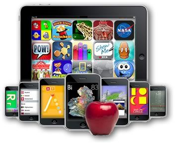 Apps for education.  Site breaks down by categories including special ed, autism, blooms, multiple intelligences, pre-school, themes, etc!