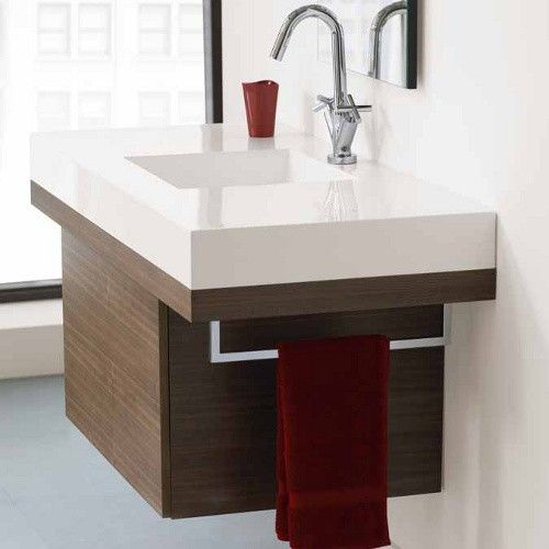 The Wish Above Counter Long Sink is a strikingly modern bathroom sink the provides the optimal amount of built-in counter space. http://www.ybath.com/neptune-wish-above-counter-long-sink.html