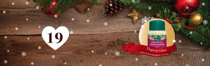 SpaDreams julkalender – tävling    Dagens vinst är ett mineral badsalt!    💝 🌟 🎁 *** HUR GÖR DU FÖR ATT DELTA? *** 🎁 🌟 💝  🎅: Räkna antalet pepparkakor på dagens temasida https://www.spadreams.se/halsoresor/doda-havet/    🎅: Fyll i ditt svar på julkalenderns hemsida:    🎅: Glöm inte att komma tillbaka imorgon för att tävla om nästa vinst