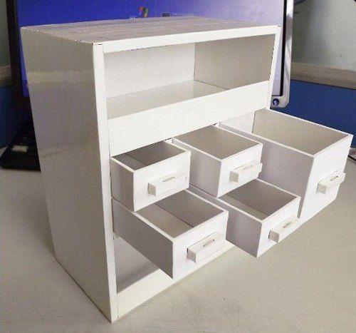 Делаем мини комод из картона…. | Идеи дизайна интерьера