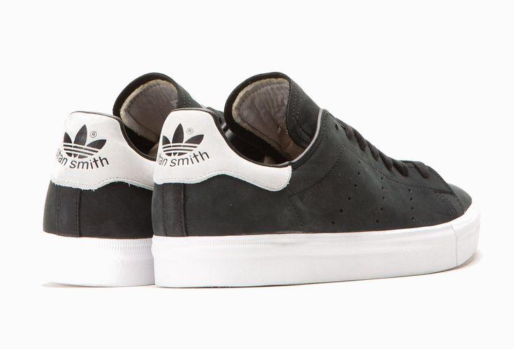 Adidas Stan Smith Vulc Core Black  Vintage White (4)