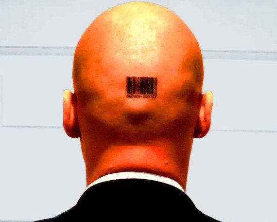 Barcode Hitman Tattoos 6406509 040147 Etsy Barcode Tattoo Hitman Hitman Agent 47