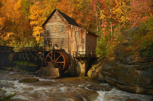 Glade Creek Grist Mill, WV = Photo by Michael Costello