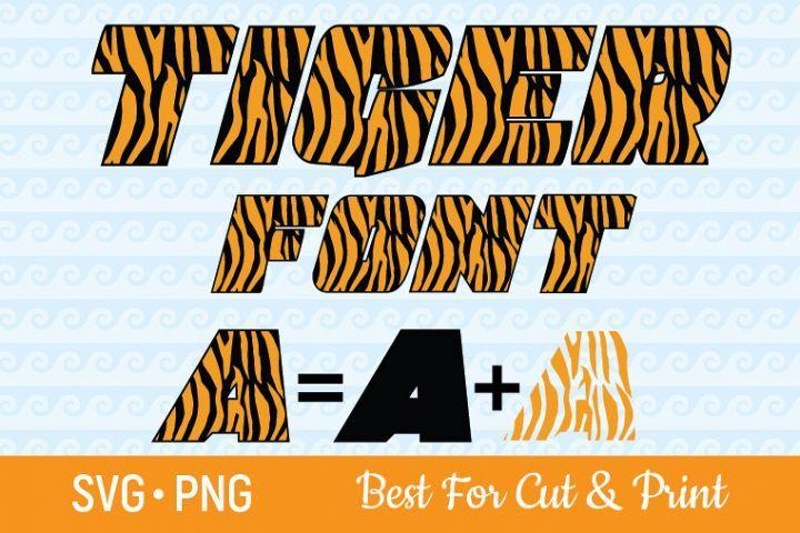 Tiger Alphabet Svg Tiger Svg Tiger Font Svg Letters Svg 353000 Svgs Design Bundles Fonts Alphabet Brochure Design Template Fonts