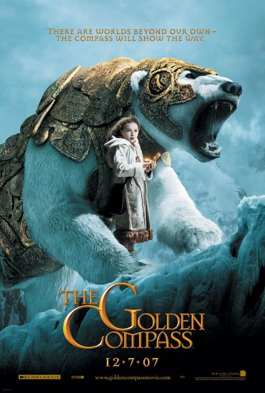 The Golden Compass: Movie Posters, Worth Reading, Compass 2007, Dark Materials, Books Worth, Northern Lights, Philip Pullman, Favorite Movie, Golden Compass