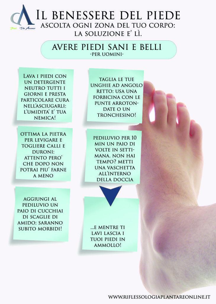 Come avere piedi sani e belli in ogni occasione! -versione maschile-