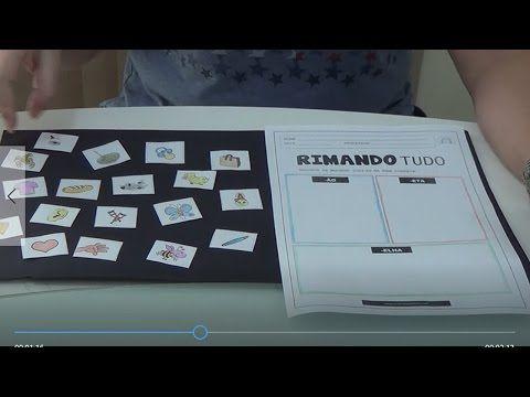 (53) Dica legal - Consciência Fonológica - Atividade RIMANDO TUDO - YouTube
