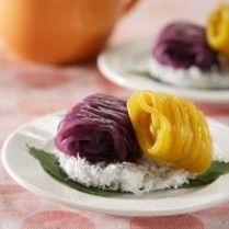 PUTU MAYANG WARNA WARNI http://www.sajiansedap.com/recipe/detail/7382/putu-mayang-warna-warni
