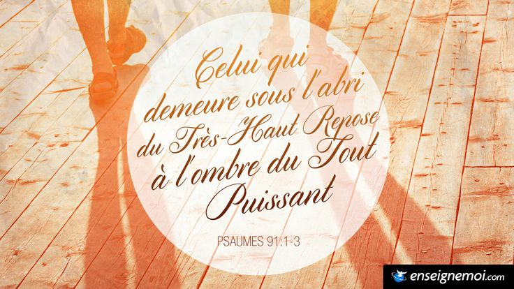 Psaumes 91:1-3