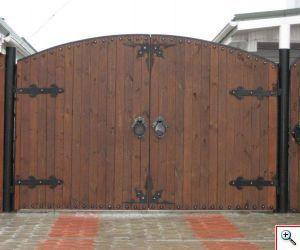 Ворота распашные, Художественная ковка Екатеринбург